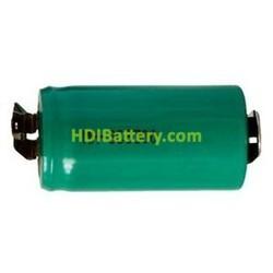 Bateria Sub-C 1.2 Voltios 3.000 mAh NI-MH 42,7x23mm C/lenguetas